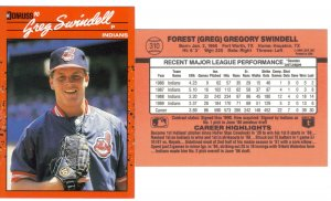 Card #310 Greg Swindell