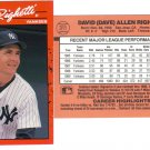 Card #311 Dave Righetti