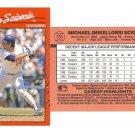 Card #316 Mike Scioscia