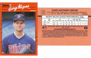 Card #318 Gary Wayne