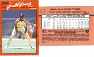 Card #325 Gerald Young