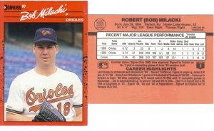 Card #333 Bob Milacki