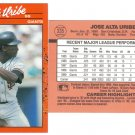 Card #335 Jose Uribe