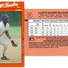 Card #341 Lloyd McClendon