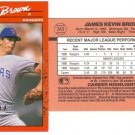 Card #343 Kevin Brown