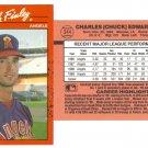 Card #344 Chuck Finley