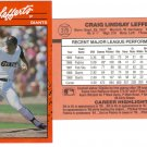 Card #376 Craig Lefferts