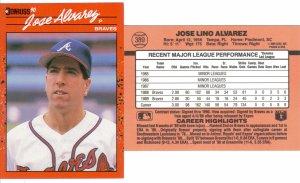 Card #389 Jose Alvarez