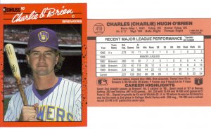 Card #410 Charlie O'Brien