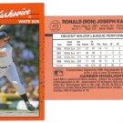 Card #413 Ron Karkovice