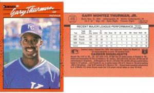 Card #416 Gary Thurman