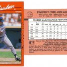 Card #419 Tim Laudner