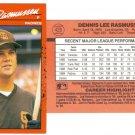 Card #420 Dennis Rasmussen