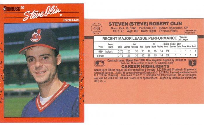 Card #438 Steve Olin