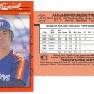 Card #443 Alex Trevino