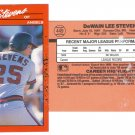 Card #449 Lee Stevens