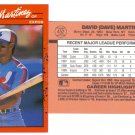 Card #452 Dave Martinez