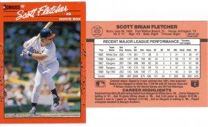 Card #455 Scott Fletcher
