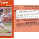 Card #457 Tony Fossas