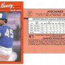 Card #467 Jose Nunez