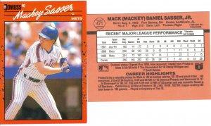 Card #471 Mackey Sasser