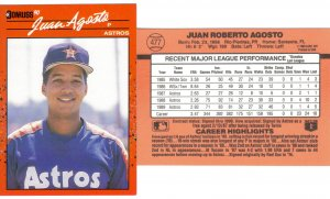 Card #477 Juan Agusto