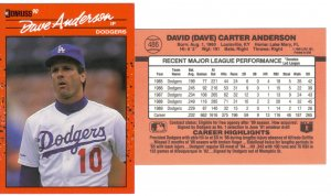 Card #486 Dave Anderson