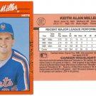 Card #507 Keith Miller