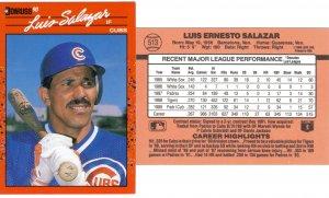 Card #513 Luis Salazar