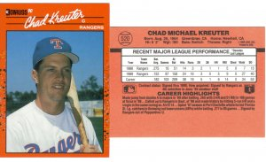 Card #520 Chad Kreuter