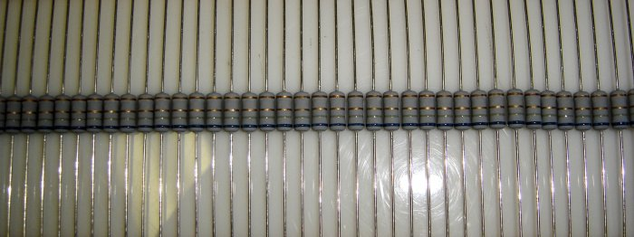6.8 Ohm - 1 Watt Metal Oxide Resistor  5% Tolerance 10 Pcs