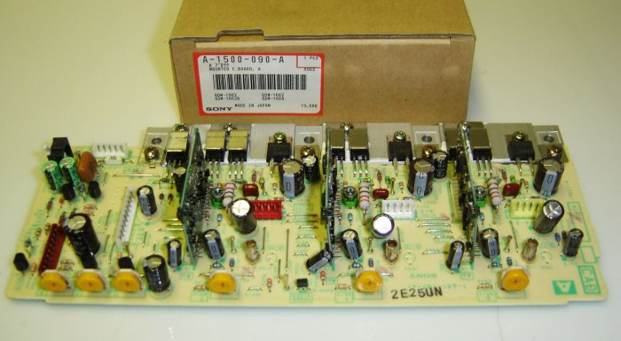 A-1500-090-A Sony Original Mounted Circuit Board A-Sony Sub P/N: 8-934-764-00