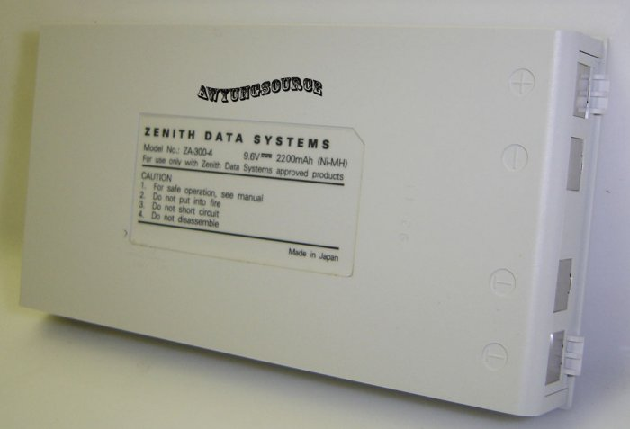 ZA-300-4 Zenith Original NI-Mh Notebook Battery - Brand New