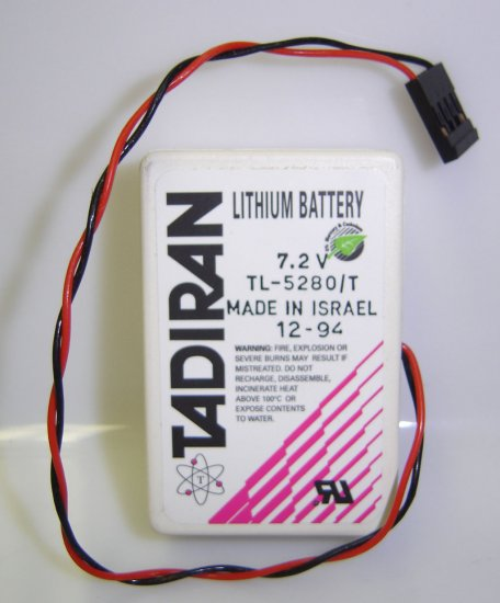 TL-5280/T Tadiran 7.2V Lithium Battery - Brand New