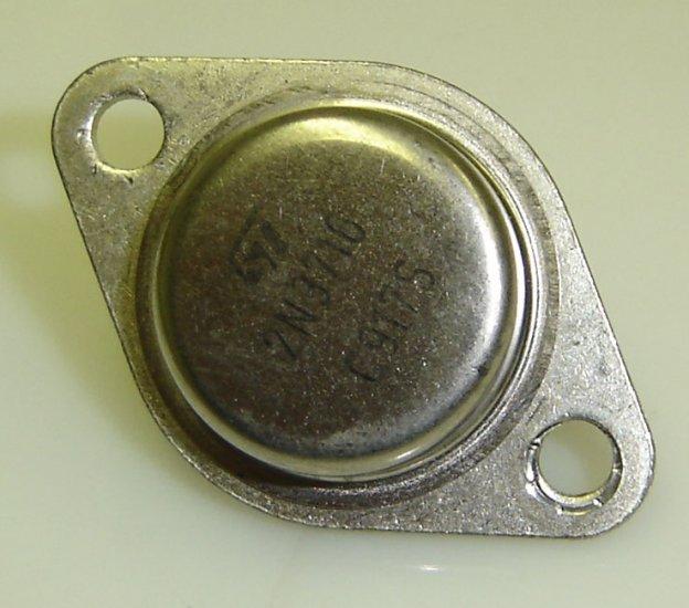 2N3716 Motorola Transistor Original TO3 Case