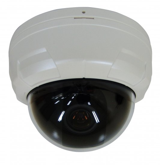 "Super High Resolution Indoor Color Dome Camera - Sony 1/3"" Super HAD CCD"