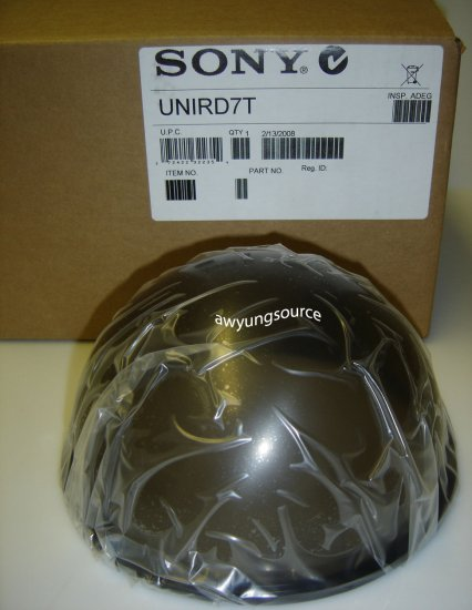 UNIRD7T SONY TINTED OUTDOOR DOME