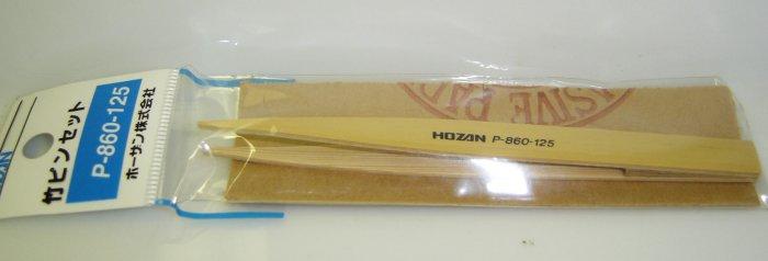 P860-125 Hozan Bamboo Tweezer