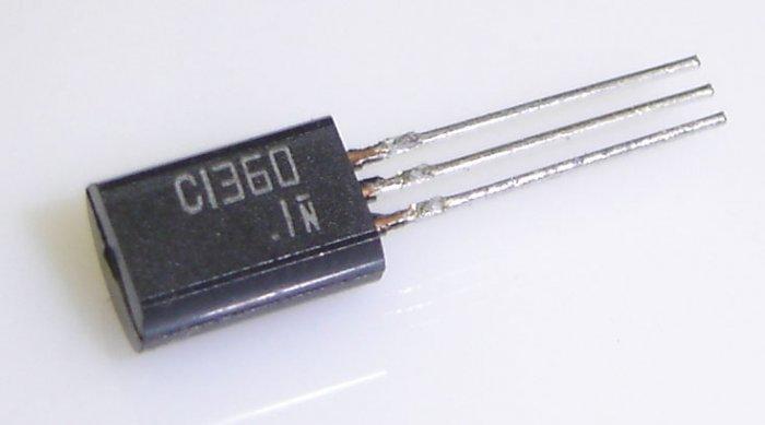 2SC1360 Panasonic Transistor NPN Silicon Epitaxial Planar Type-3 Pcs