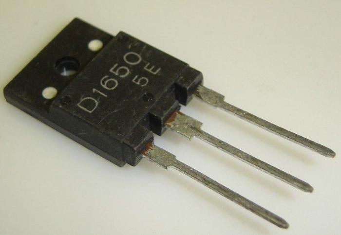 2SD1650 Toshiba Original Horizontal Output w/Damper Diode