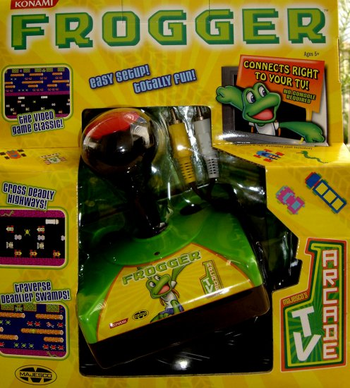 Frogger Popular Video Game for Your Television