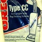 Oreck Hypo-Allergenic Genuine Celoc Vacuum Bags - 8/Pkg