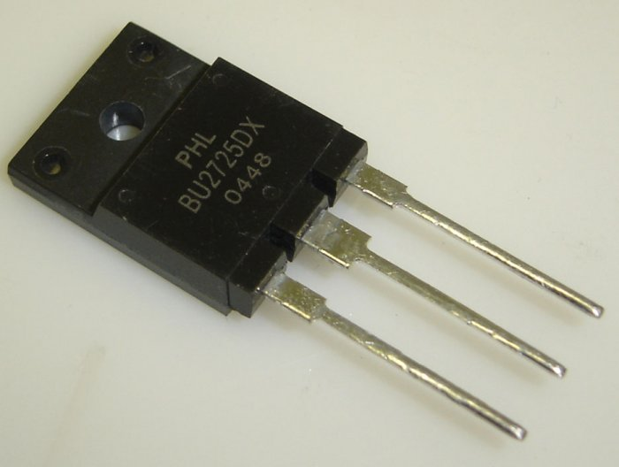 BU2725DX Philips Original Silicon Diffused Power Transistor
