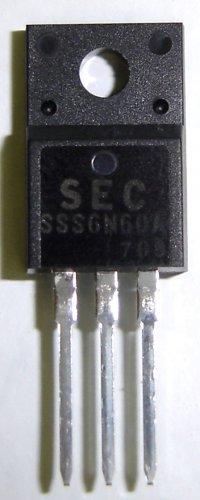 6N60A / SSS6N60A Samsung Original