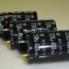 220uF-400V Hitachi Aluminum Electrolytic Capacitor - 3 Pieces