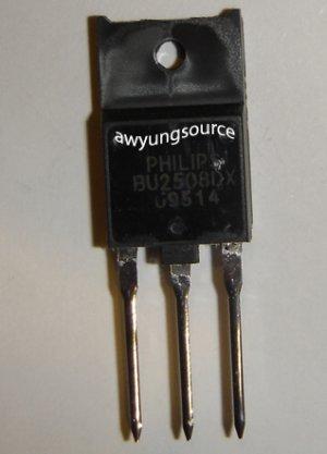 BU2508DX PHILIPS ORIGINAL NPN SILICON POWER TRANSISTOR