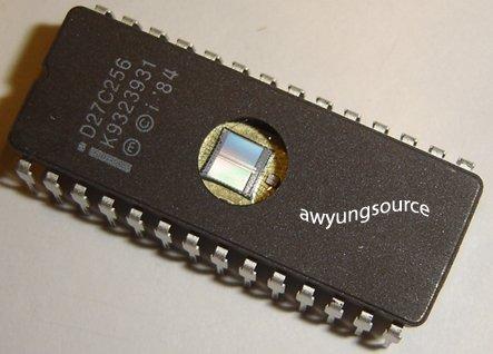 D27C256 INTEL ORIGINAL 256K 32K X 8 UV ERASABLE EPROM