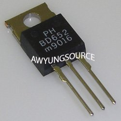 BD652 PHILIPS ORIGINAL PNP SILICON POWER DARLINGTON TRANSISTOR