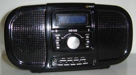 PORTABLE HD RADIO W/DIGITAL CLOCK - WHOLESALE LOTS OF 20 UNITS