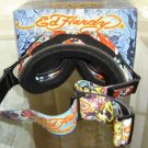 ED HARDY EHG-881 SMALL SKI GOGGLES POLARIZED BRAND NEW!